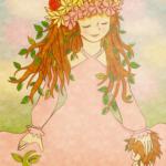 花の女神と生命の誕生